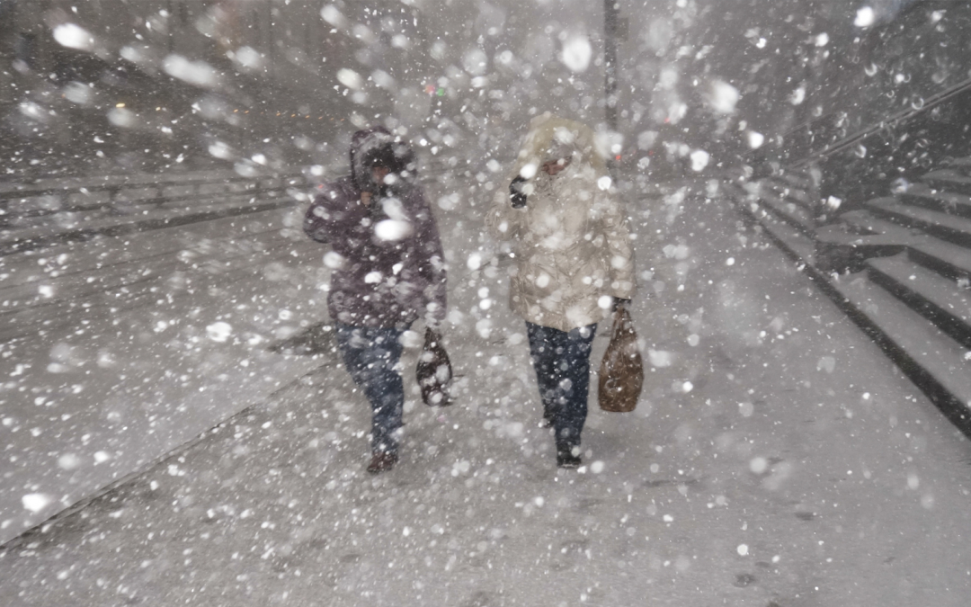 What To Do When Caught In A Winter Storm